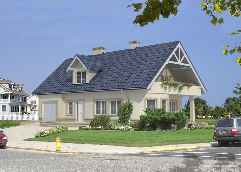 Projekt domu LK&57