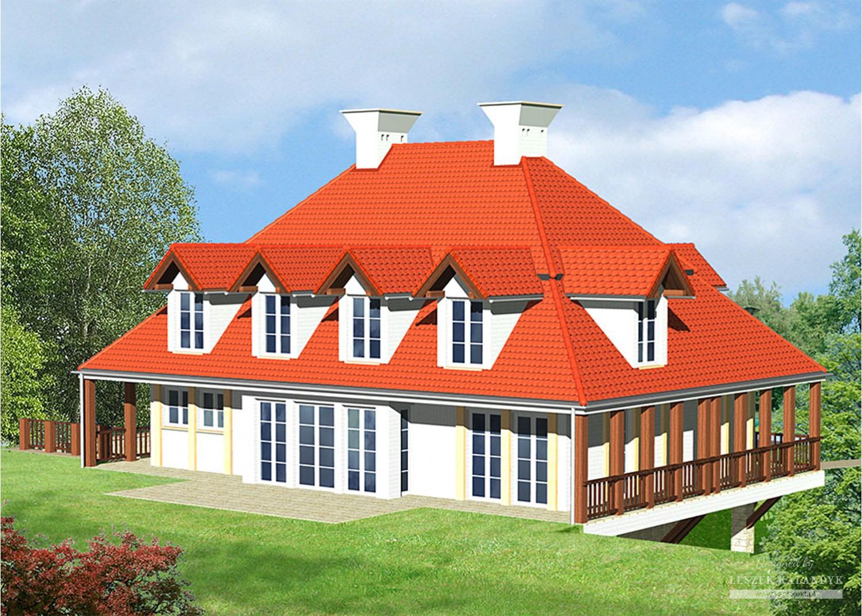 Projekt domu LK&43