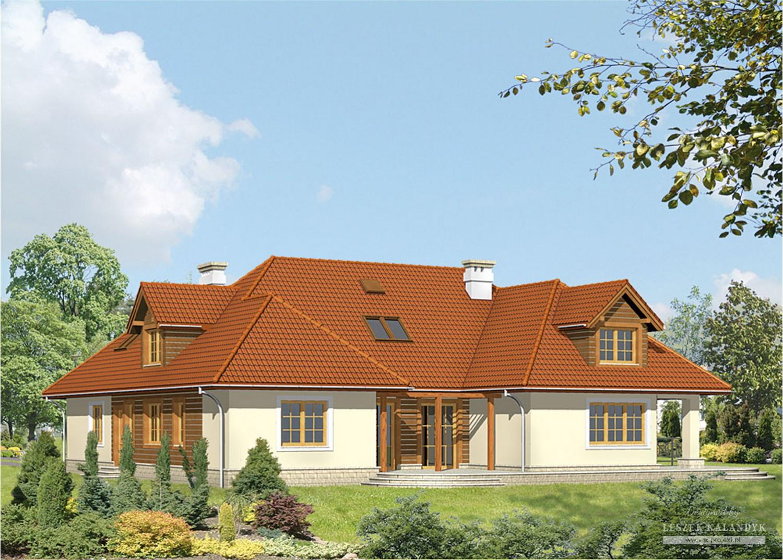Projekt domu LK&32