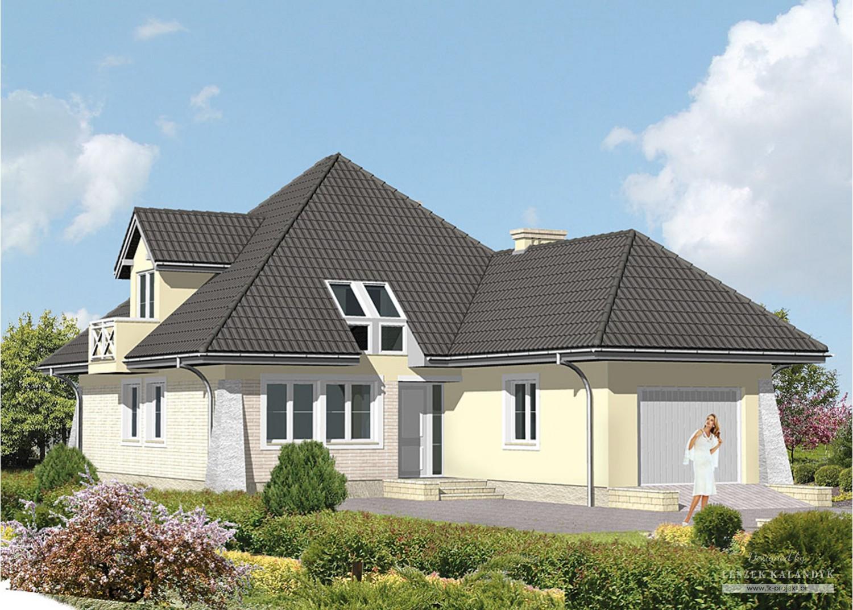 Projekt domu LK&25