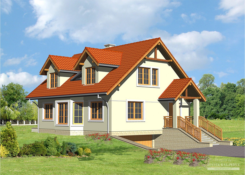 Projekt domu LK&22