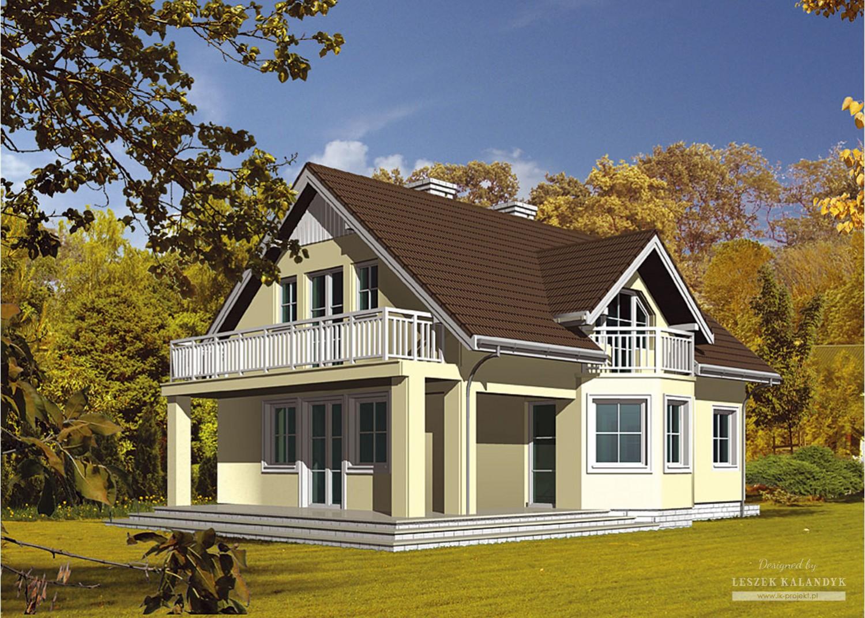 Projekt domu LK&17