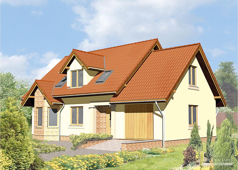 Projekt domu LK&16
