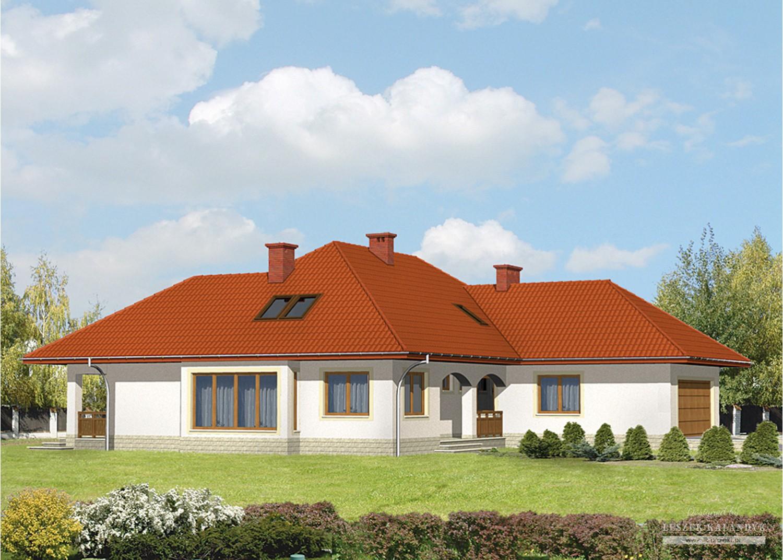 Projekt domu LK&8