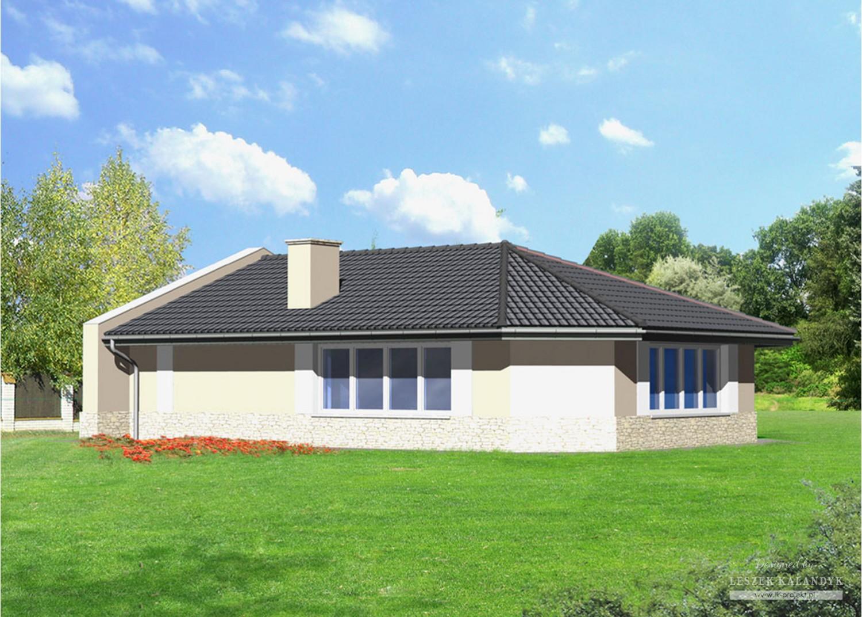 Projekt domu B48