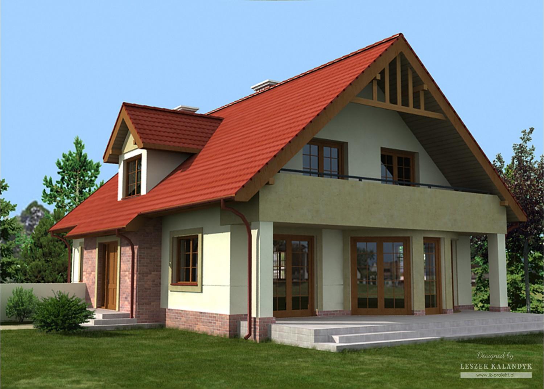 Projekt domu LK&5