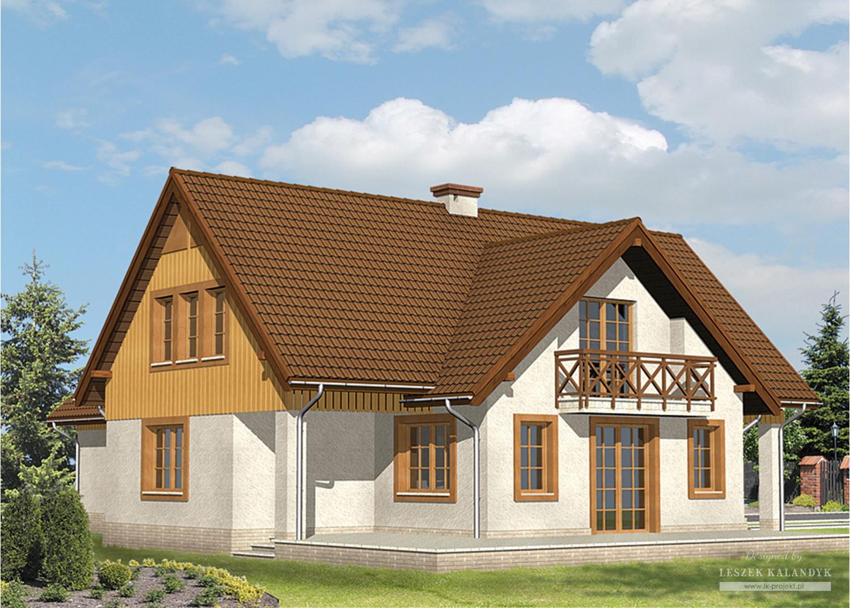 Projekt domu LK&3