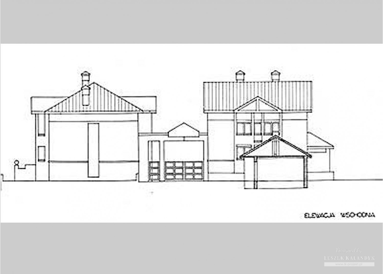 Projekt domu B45