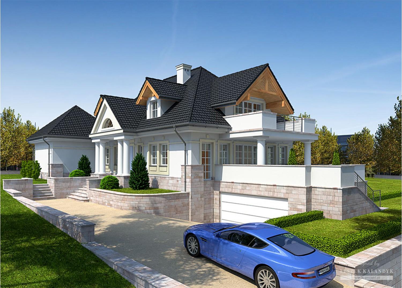 Projekt domu LK&916