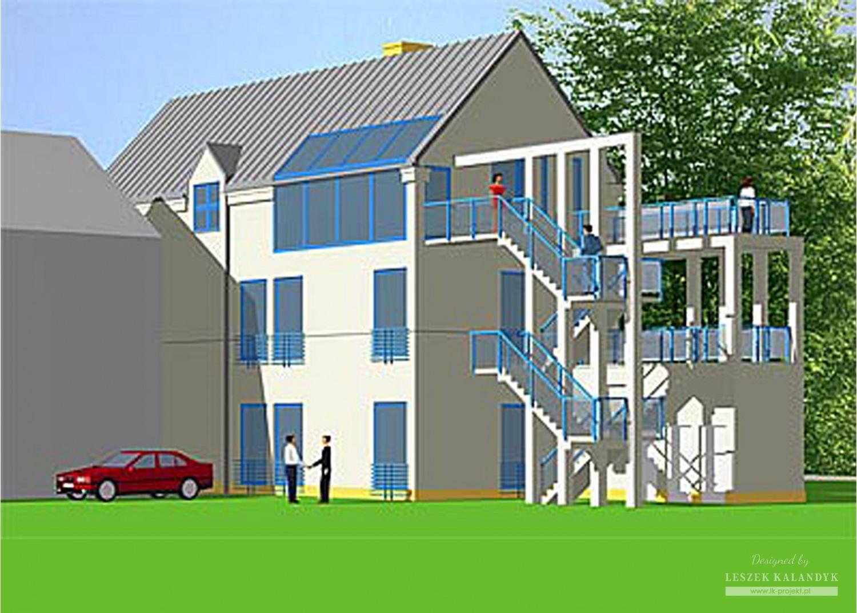 Projekt domu B30