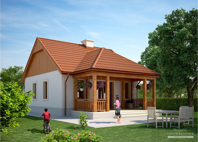 Projekt domu LK&892