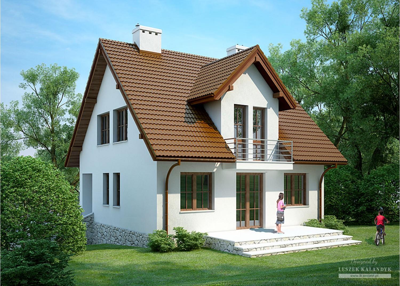 Projekt domu LK&314