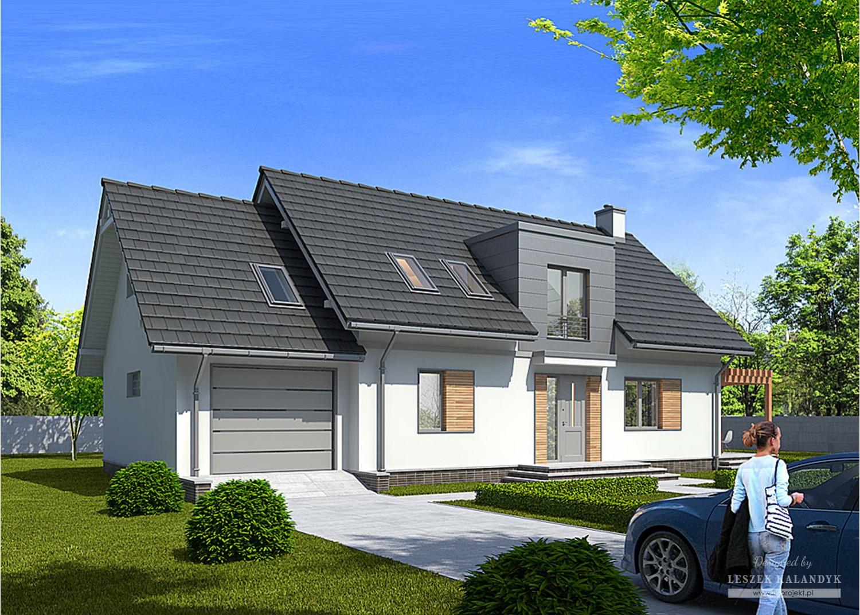 Projekt domu LK&911