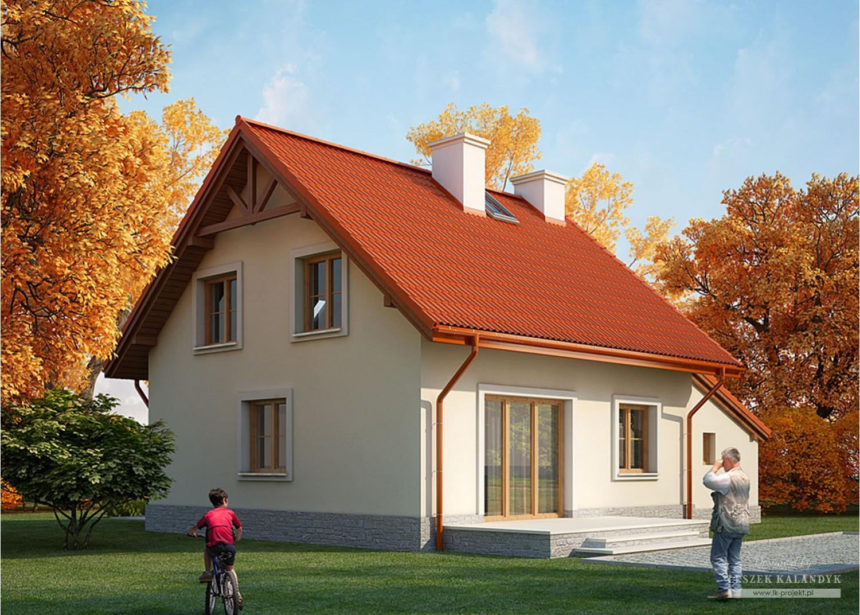 Projekt domu LK&726