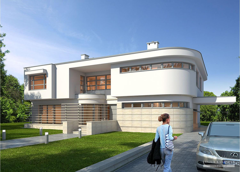 Projekt domu LK&907