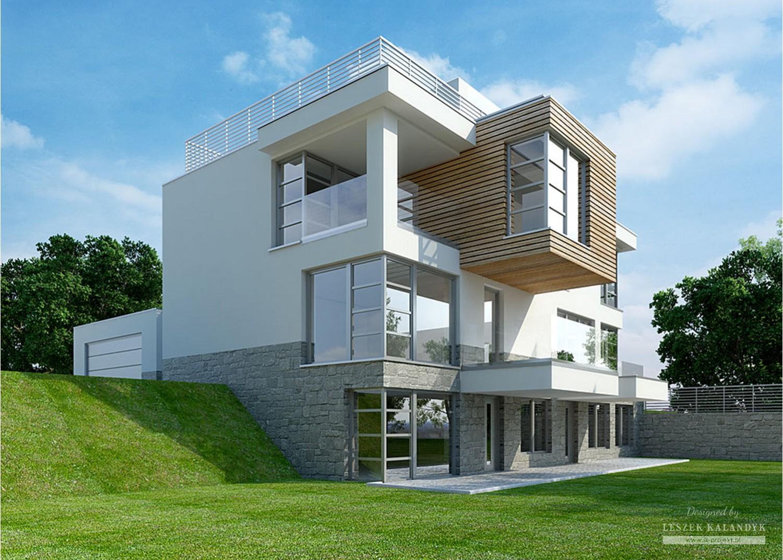 Projekt domu LK&938