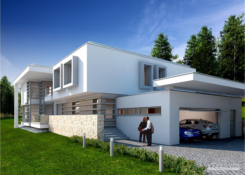 Projekt domu LK&1052