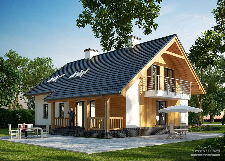 Projekt domu LK&934