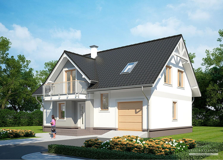 Projekt domu LK&948