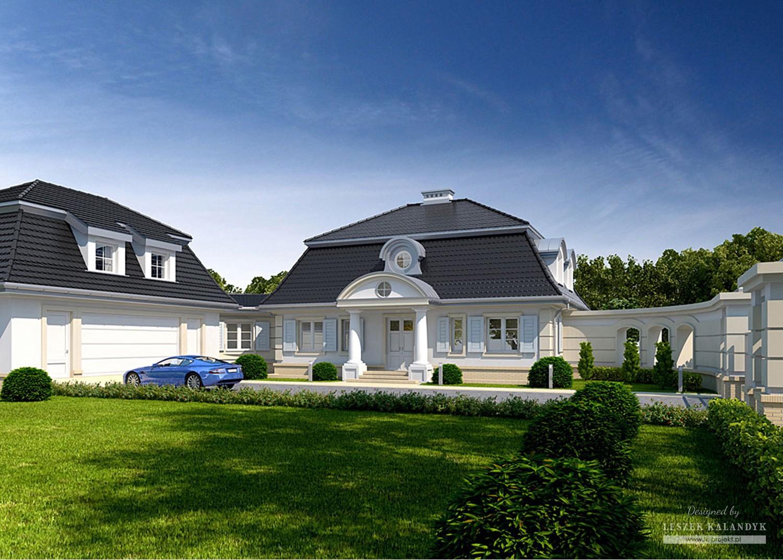 Projekt domu LK&973