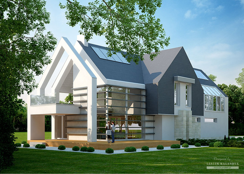 Projekt domu LK&1043