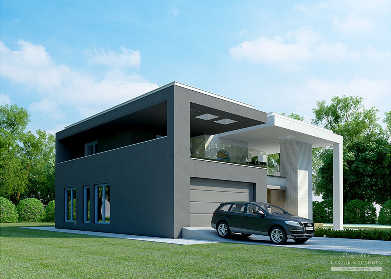 Projekt domu LK&933