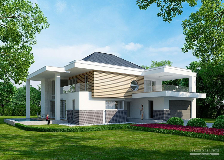 Projekt domu LK&1077