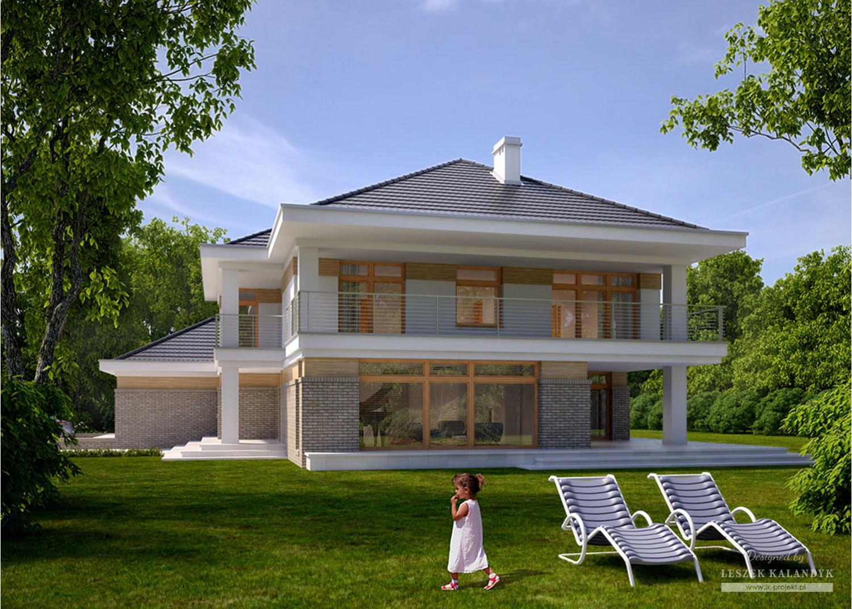 Projekt domu LK&1069