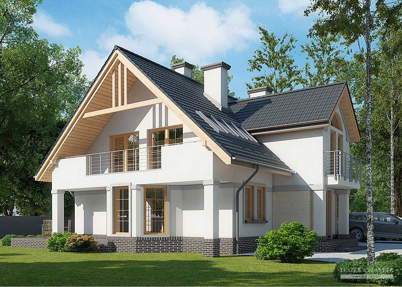 Projekt domu LK&1010