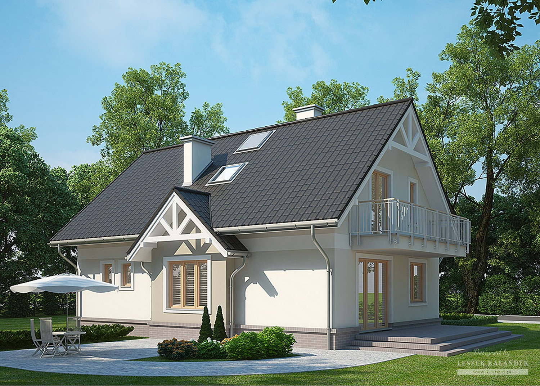 Projekt domu LK&1098