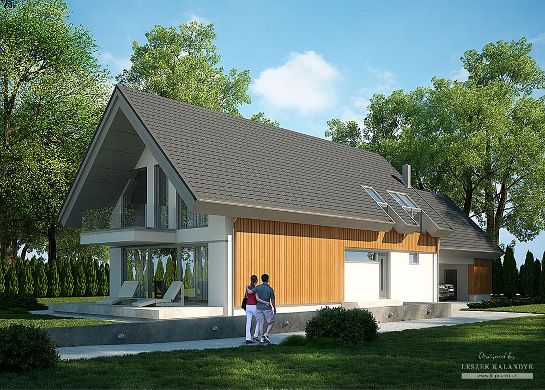 Projekt domu LK&1091