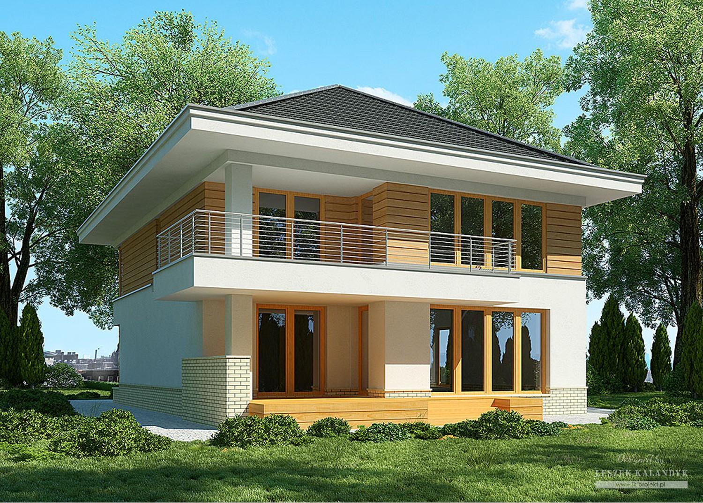 Projekt domu LK&896