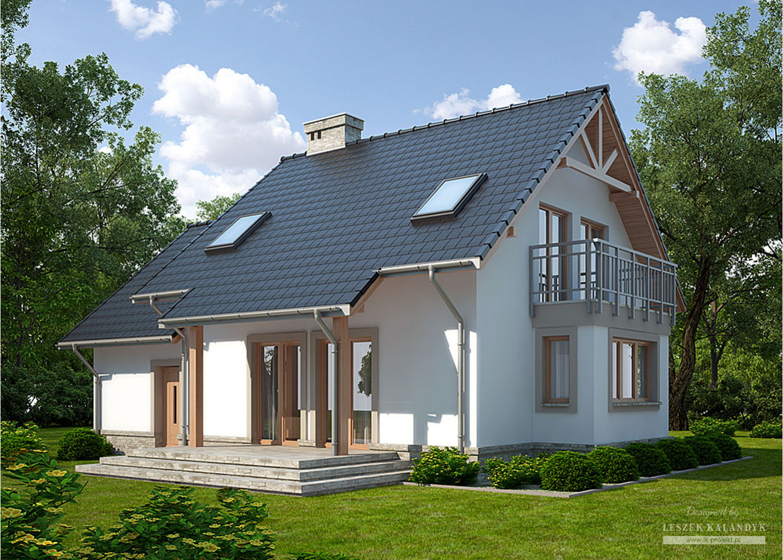 Projekt domu LK&741