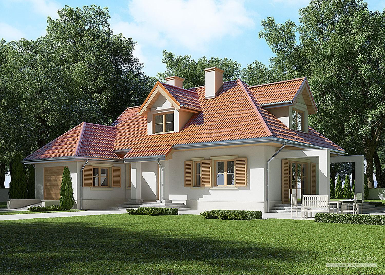 Projekt domu LK&551