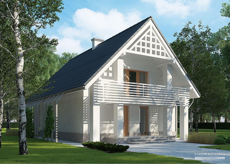 Projekt domu LK&859
