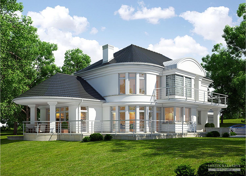 Projekt domu LK&671