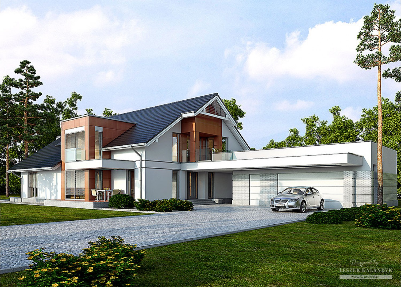 Projekt domu LK&1134