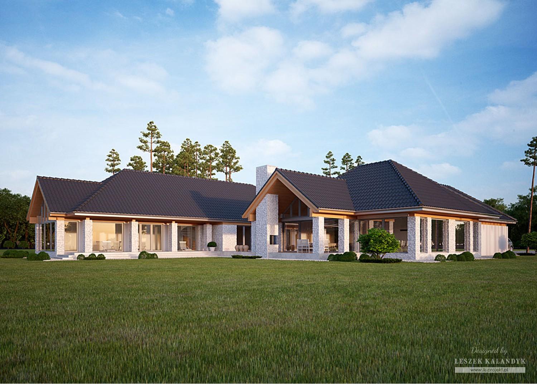 Projekt domu LK&1154