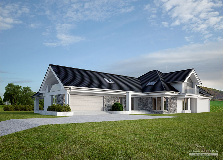 Projekt domu LK&1160