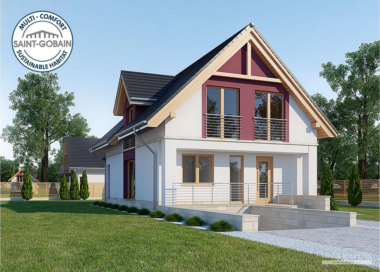 Projekt domu LK&1128