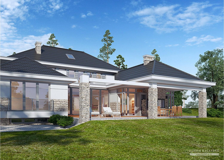 Projekt domu LK&1155