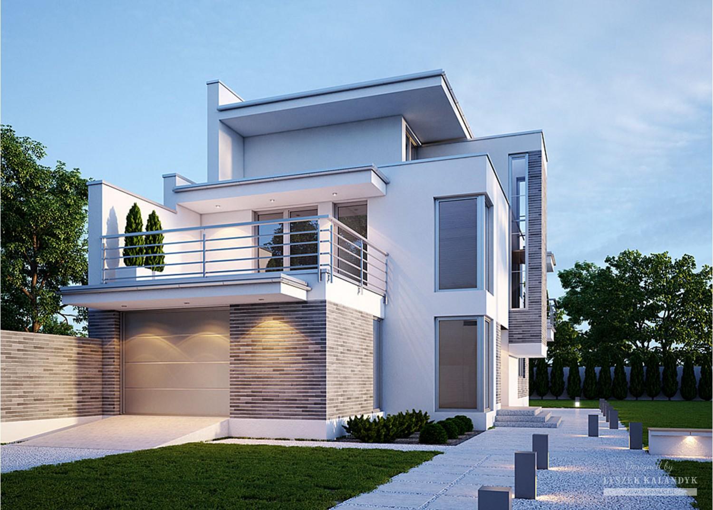 Projekt domu LK&246