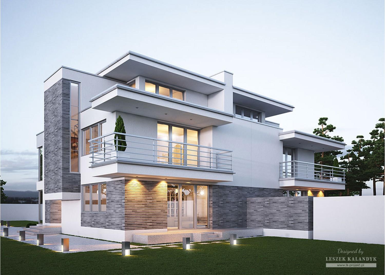 Projekt domu LK&318
