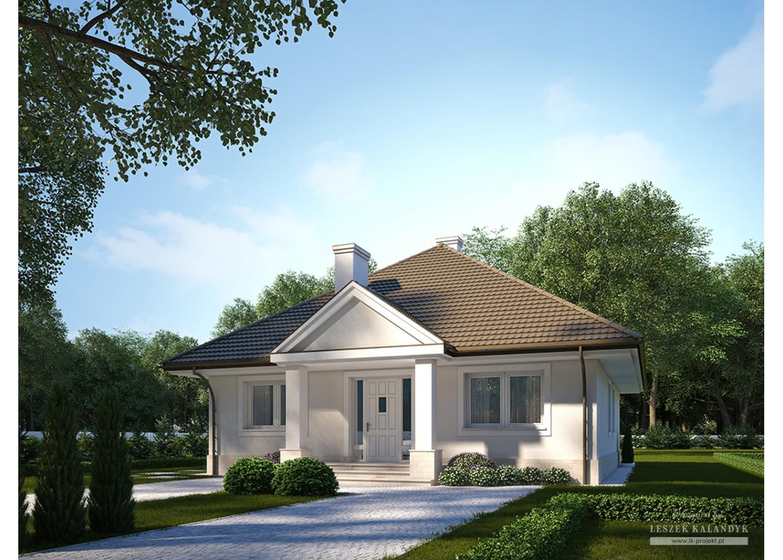 Projekt domu LK&729