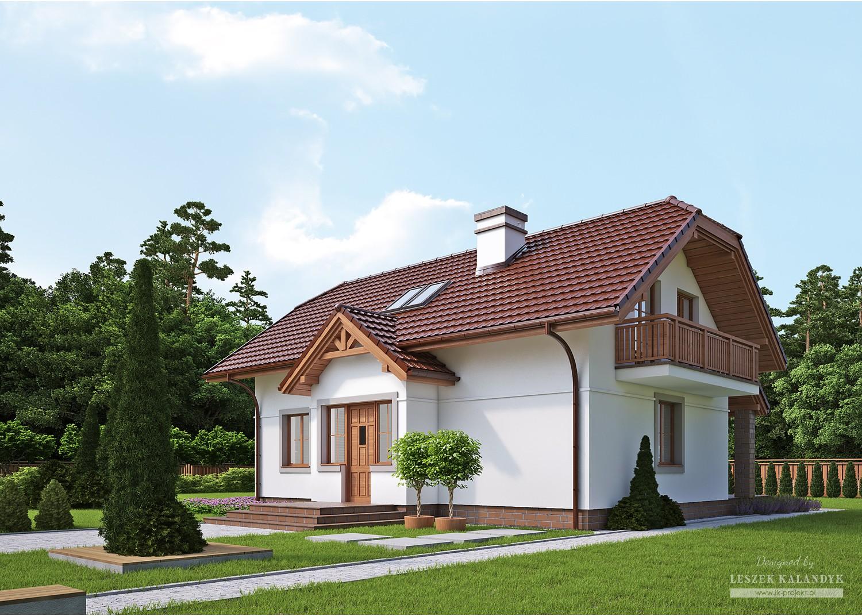 Projekt domu LK&301