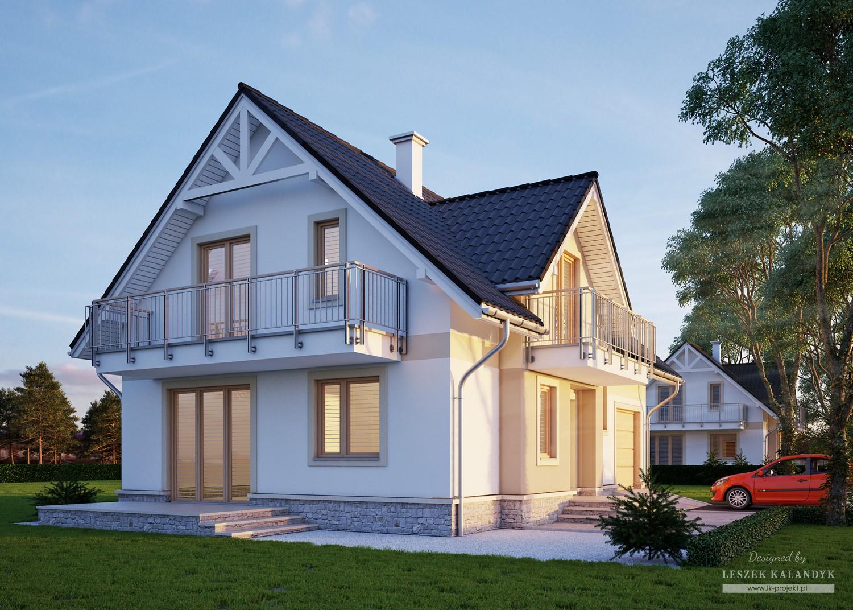 Projekt domu LK&650