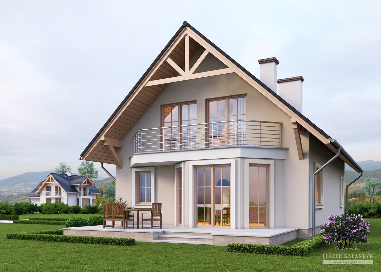 Projekt domu LK&633