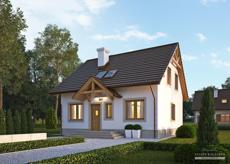 Projekt domu LK&647
