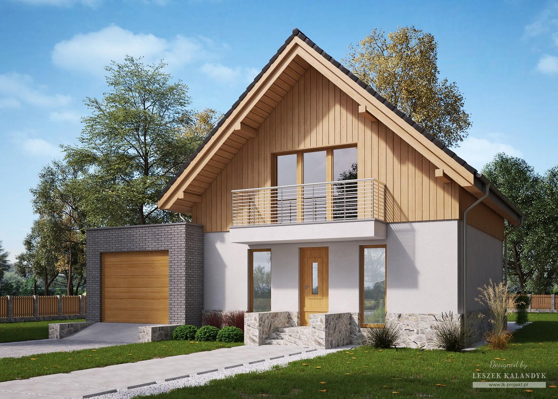 Projekt domu LK&1183