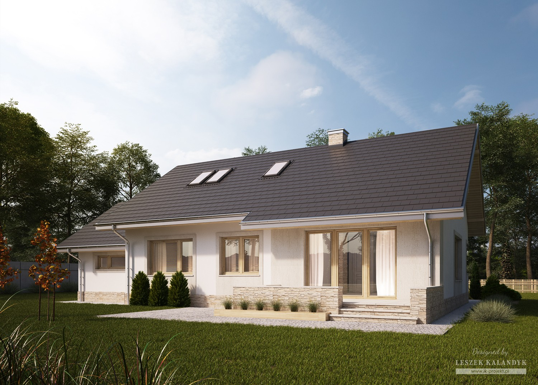 Projekt domu LK&1176